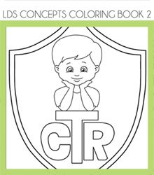 All sorts of cute coloring pages #LDS #coloring