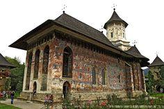 Moldovita monastery, Bucovina, Romania