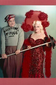 MAE WEST 67, & RED SKELTON on The Red Skelton Hour 1960. (minkshmink)
