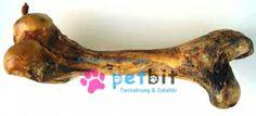 KALBSUNTERBEIN GETROCKNET 1 STÜCK - Getrocknetes Kalbsunterbein, ein langer Kauspaß selbst für große Hunde!