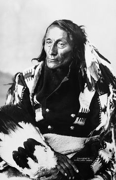 *Bobtail, Chief of the Cree ~by Glenbowmuseum *
