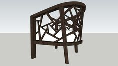 Large preview of 3D Model of Ankara Crate and Barrel