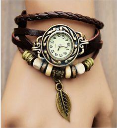 Leaf Vintage Wrap Watch – Florence Scovel