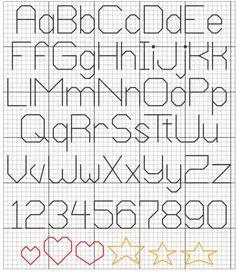 DMC US'den Cross Stitch Harf Örnekleri : Hobium