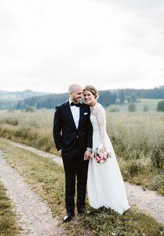 Hello May. german wedding. Rue de seine. Sarah seven bride. Hugo Boss.