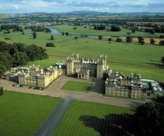 Floors Castle, Kelso, Scotland