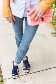 fringe sandals | Luella & June