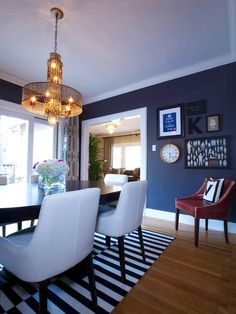 . See more blue rooms @BrightNest blog... Remember this wall color!! Living room