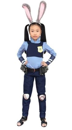 Pin for Later: Disney Zootopia Halloween Costumes Your Kids Are Going to Love Dazcos Child Police Rabbit Judy Hopps Costume Dazcos Child Police Rabbit Judy Hopps Costume ($85)