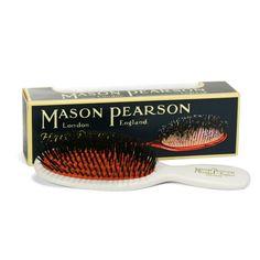 Mason Pearson - Ivory Pocket Bristle Brush | Peter's of Kensington