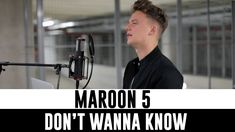 Maroon 5 - Don't Wanna Know ft. Kendrick Lamar...what I wouldn't give to have this kind of musical talent.  Holy crap!  Love this cover so much better than the original!