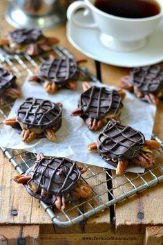 Vegan Chocolate Turtles