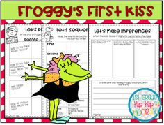 Froggy's First Kiss Craft and Activities