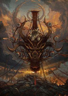 CdJ Deus do Trovão Zhichao Cai - Imagens oferecem uma infinidade de detalhes para observar