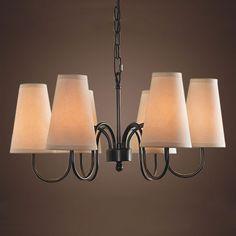 American Country Nordic Minimalist Style Living Room Chandelier Hanging Lamps Lighting Restaurant Study Bedroom Linen