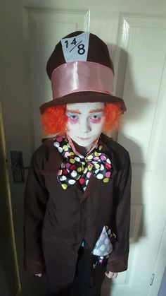 """Shane Wright, 10 years old, of Hazlerigg. Mother Terri Bates said: """"Mad Hatter. Won best dressed in his class for his costume."""""""