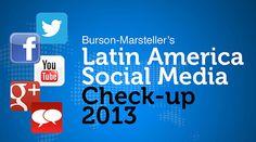 Latin America Social Media Check-up 2013 Marketing Topics, Marketing Communications, Latin America, Leadership, Presentation, Social Media, Check, Socialism, Social Networks
