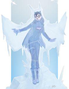 This is a commission for of Batgirl after being frozen by Mr.Batgirl Pin Up Commission Dc Batgirl, Batgirl And Robin, Batwoman, Batgirl Cosplay, Barbara Gordon, Batgirl Of Burnside, Batman Universe, Family Costumes, Cartoon Tv