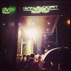 """Get yourself in the """"scene"""" at our rooftop tonight. Get ready. #NYC#Nightlife"""