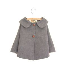 Wool Cape - vintage style. $50.00, via Etsy.
