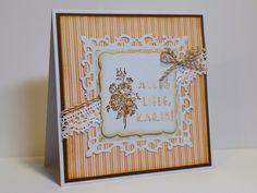 Simones Karten-Ecke: Pastellfarbene Geburtstagskarte - Pastel-coloured birthday card