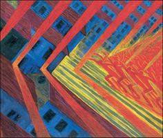 Italian Futurism: Luigi Russolo, The Revolt, Oil on Canvas, x Luigi, Tate Modern Exhibitions, Gino Severini, Italian Futurism, Futurism Art, Pop Art, Modern Art, Contemporary Art, Art Of Noise