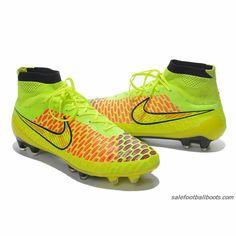 Nike Magista Obra FG Fluorescent Green Red Black  103.99 1f57bdce34