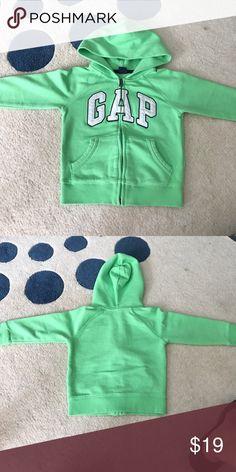 Gap logo sweatshirt size 3T Neon green GAP sweatshirt size 3T in excellent condition no rips tears or stains smoke & animal free home GAP Shirts & Tops Sweatshirts & Hoodies