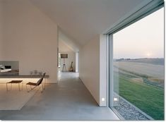 This home in Sweden designed by architect John Pawson for Fabien Baron is mouth watering. Truly an inspiration for the modern minimalist. Chinese Architecture, Modern Architecture House, Futuristic Architecture, Sustainable Architecture, Residential Architecture, Architecture Design, Ancient Architecture, Landscape Architecture, Daniel Libeskind