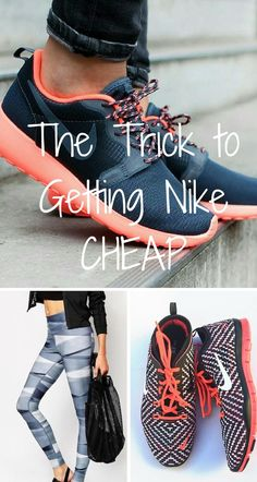 Sale! Buy Nike and other workout gear at up to 70% off! Click image to install the free Poshmark app now.