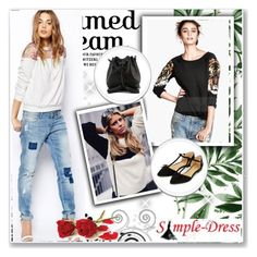 """""""Simple-dress *25"""" by albinnaflower ❤ liked on Polyvore featuring Rebecca Minkoff and Accessorize"""