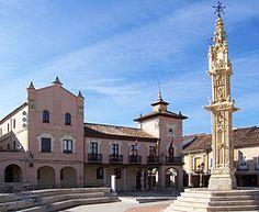 Valladolid Villalon de Campos rollo y ayuntamiento