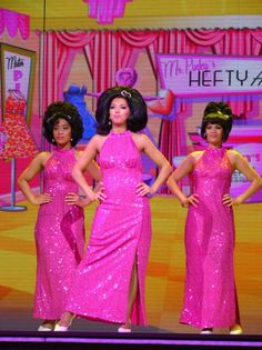 Mr. Pinky's hefty hideaway sign Hairspray | The Dynamites at Mr Pinky's