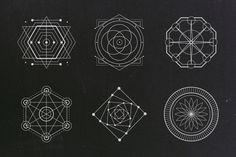 Futuristic Logo Illustrated Designs.