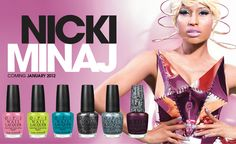 loveee the Nicki Minaj OPI collection- so fun!