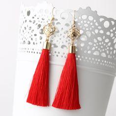 Boho Long Tassel Earrings //Price: $14.00 & FREE Shipping //     #bohemian