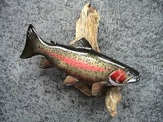 Rainbow Trout Carving