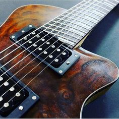 Your axe is unique. Your playing's unique. Your strings should be too.  Create your custom set today at Stringjoy.com  Thanks to Myka Guitars for the awesome pic of this multiscale 7 string.