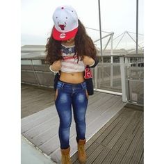 Tumblr Swag Outfit. Love the jeans and boots. Shirts down please