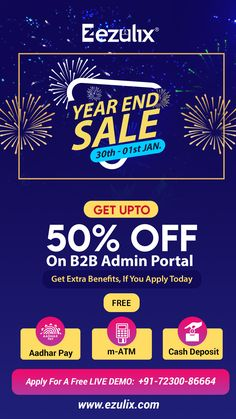 B2B Admin Portal- Apply Today & Get @50% Discount + (Aadhaar Pay, Micro ATM & Cash Deposit) Services FREE. Offer is Here--> Call: +91 72300-86664 (Limited Time Offer) Web Application Development, Mobile Application, Design Development, Software Development, Atm Cash, Business Software, Portal, Web Design, How To Apply