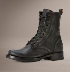 The Combat boot we all love. Coming soon in grey. Already selling and we haven't even get them!
