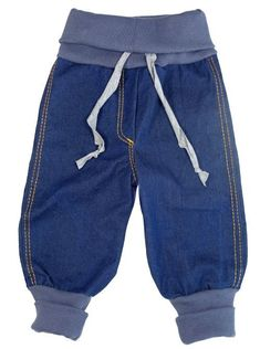 Sewing baggy jeans for little robbers – Nähen fürs baby - Children Clothes Toddler Outfits, Baby Boy Outfits, Kids Outfits, Toddler Girls, Baby Girl Fashion, Fashion Kids, Toddler Fashion, Sewing For Kids, Baby Sewing