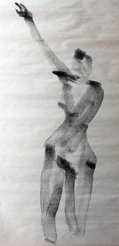Female Gesture Drawings - Joel Armstrong—wire and installation artist