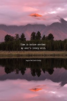 soulful nature quote with a photography of moody nature with mountains, trees, fog, and a reflection in Lake Matheson, New Zeland Wild Quotes, Lake Quotes, Sunset Quotes, Nature Photography Quotes, Nature Quotes, Nature Nature, Wild Nature, Image Photography, Macro Photography