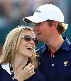 My new favorite golfing family.  Dowd and Webb Simpson
