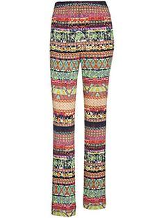 Anna Aura - Vetoketjuttomat housut, joissa suorat lahkeet