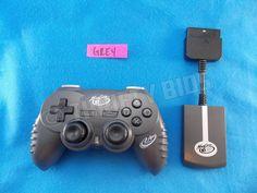 Mad Catz 8386 Wireless MicroCon Mini Controller Gamepad & Receiver for PS2 GREY #MadCatz