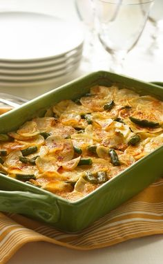 These Scalloped Potatoes Supreme will leave your family supremely happy! For more FASTastic recipes and savings, visit: bit.ly/1QnFW1Q