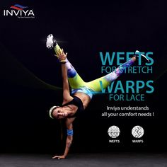 #Inviya understands the difference between horizontal and vertical knitting so that it can adapt itself to the varying requirements of your clothes! #Spandex #WeftKnitting #WarpKnitting