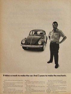Publicidad VW DDB Década 1960